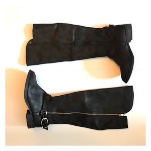 Mossimo black boots size 8